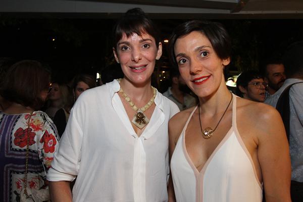 Ana Helena e Mariana Moura - Crédito: Roberto Ramos/DP