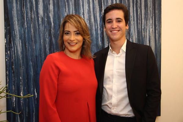 Andréa Calábria e Bruno Alheiros - Crédito: Roberto Ramos/DP