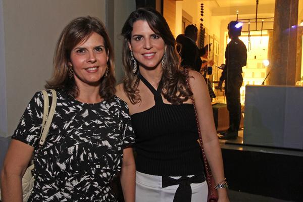 Cristiane Castro e Juliana Maranhão - Crédito: Roberto Ramos/DP