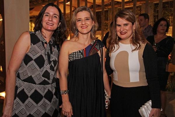 Luciana Pontual, Cristina Lira e Ana Luiza Câmara - Crédito: Roberto Ramos/DP