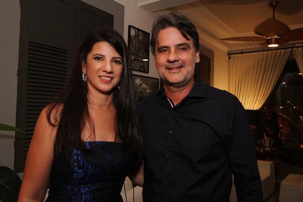 Luiza Nogueira e Raul Henry - Crédito: Roberto Ramos/DP