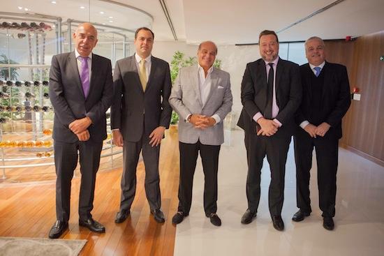 Amilcare Dallevo, Paulo Câmara, Marcelo de Carvalho e Franz Vacek - Foto: Artur Igrecias