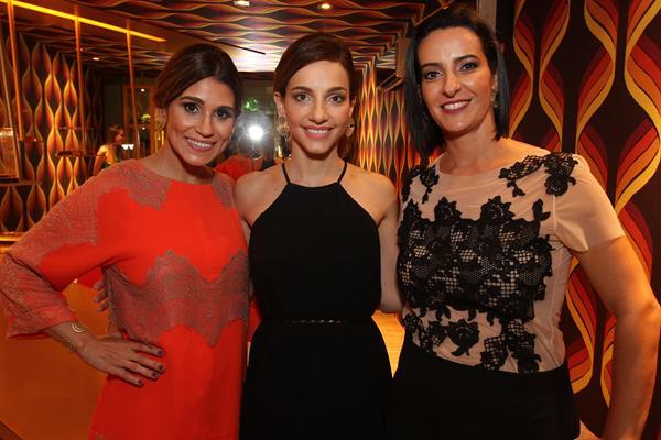 Veruska De Paula, Daniela Sá e Cris Lemos - Crédito: Roberto Ramos/DP