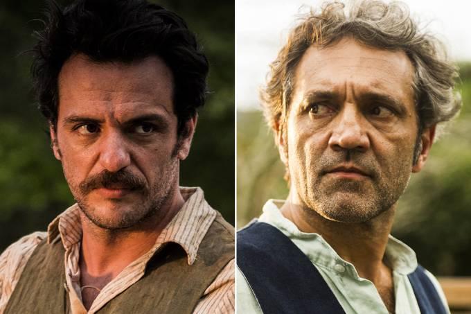 Rodrigo Lombardi vai substituir Domingos Montagner em série da Globo - Créditos: João Miguel Júnior e Caiua Franco/TV Globo