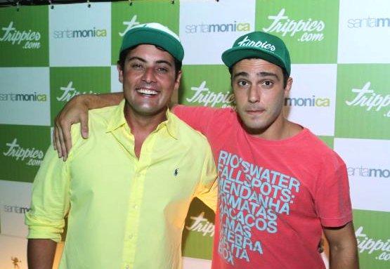 Bruno de Luca e Thiago Rodrigues - Crédito: Reprodução/Twitter