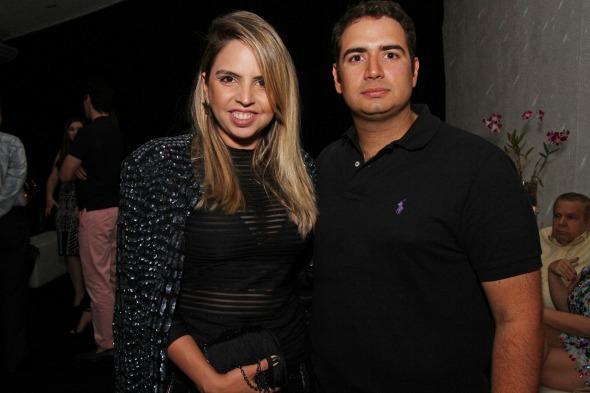 Juliana Pontes e Paulo Germano Ramos - Crédito: Roberto Ramos/DP