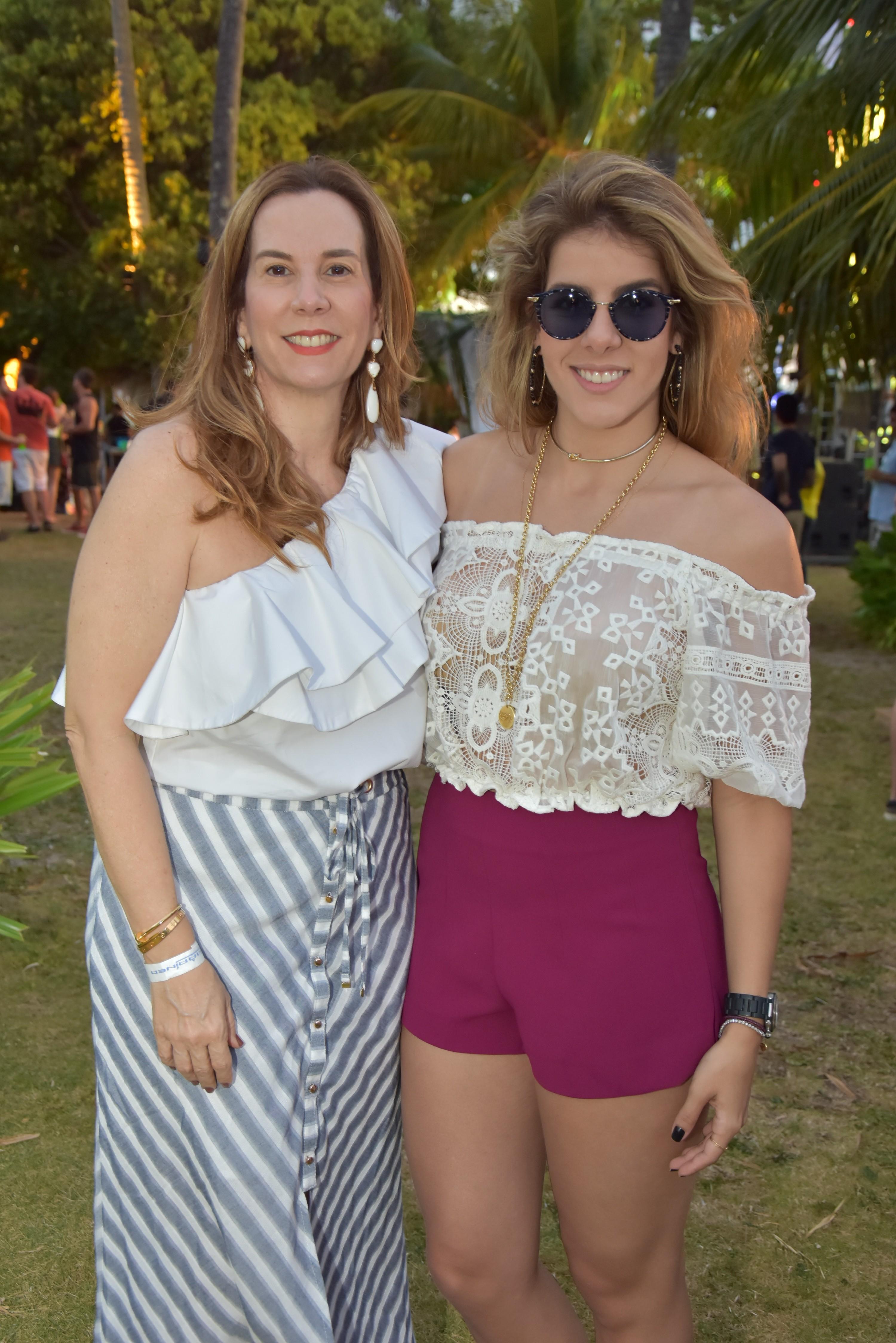 Mãe e filha: Andreia e Victoria Pinteiro - Crédito: Camila Neves/Le Porte