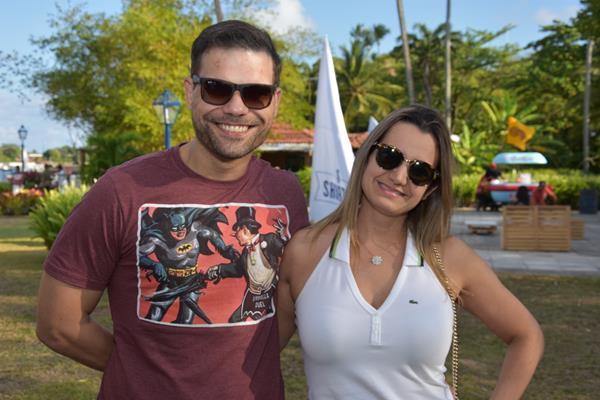 Bruno Cezar e Juliana Cavalcanti - Crédito: Camila Neves/Le Porte