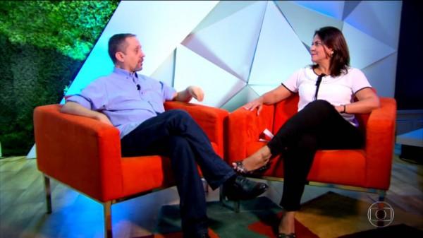 Mônica Silveira - Crédito: Reprodução/TV Globo