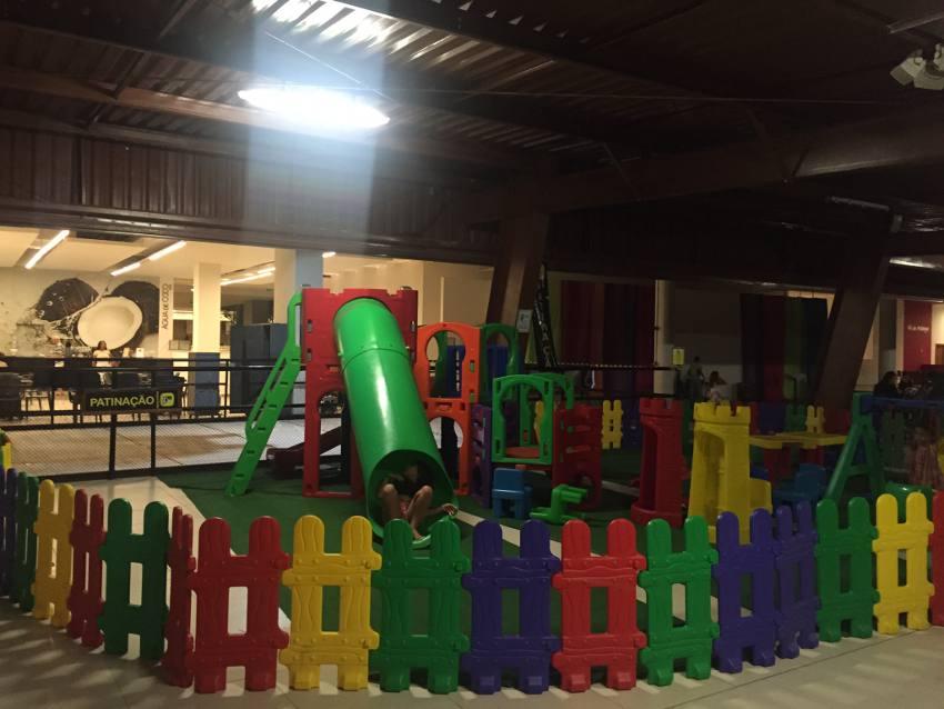 O parque infantil