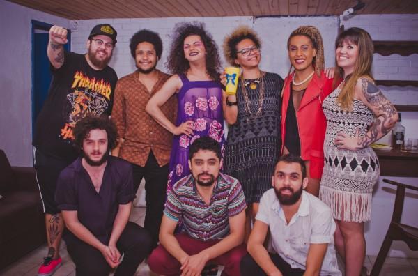 A turma da Golarrolê com As Bahias e a Cozinha Mineira  - Crédito: Thiago Britto/Divulgação