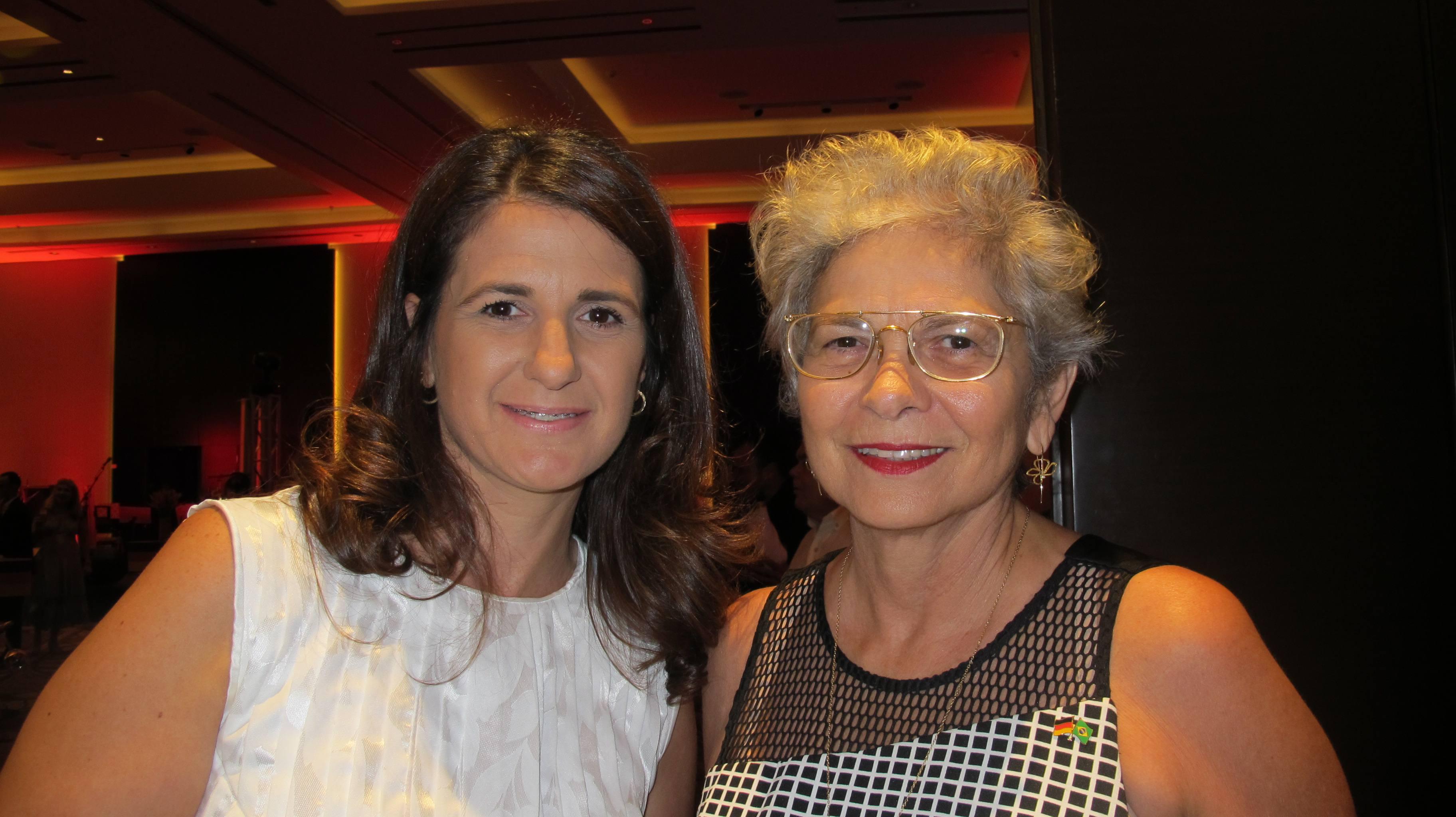 Ana Laura Stutz e Maria do Carmo Sobral