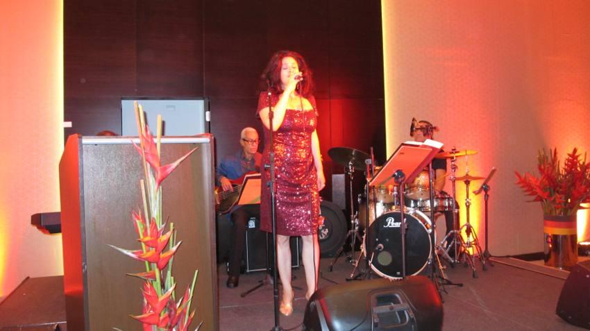 A cantora Nina Ernst