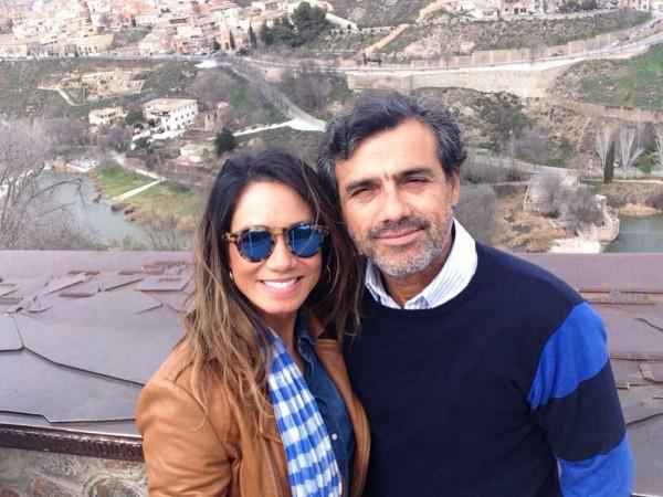 Daliana Martins e Hugo Bahamondes - Crédito: Arquivo Pessoal/Cortesia