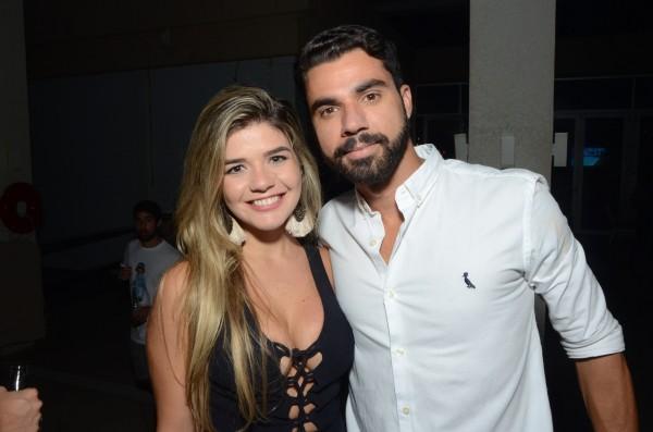 Fred Fontes e Maria Eduarda Diniz - Crédito: Gil Alves/Divulgação