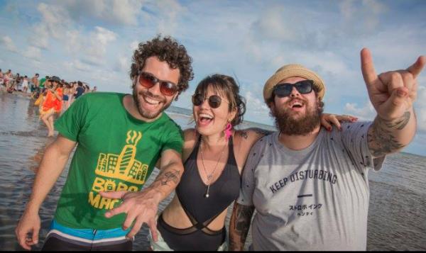 Thiago Megale, Allana Marques e Lucas Logiovine - Crédito: Celo Silva/Divulgação