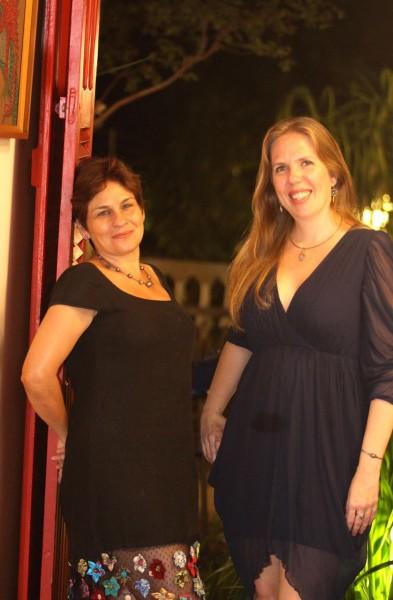 Germana Accioly e Raquel Uchoa - Crédito: Nando Chiappetta/Divulgação
