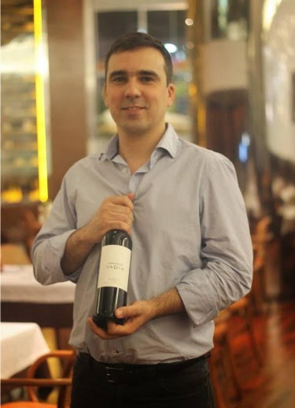 Luiz Patrão e o vinho Vadio