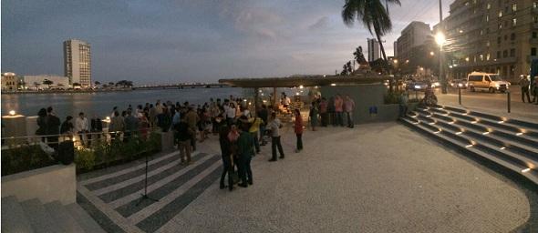 Cais do Imperador. Crédito: Marcos Pastich / Divulgação