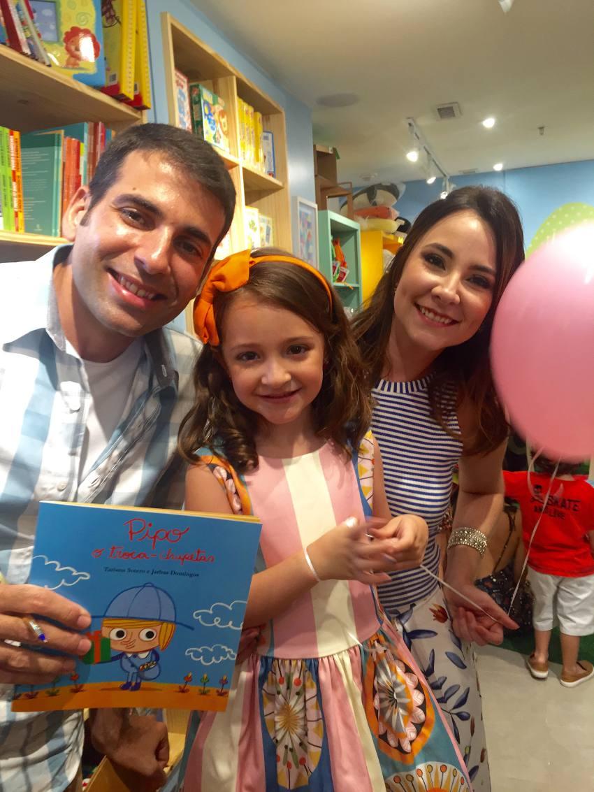 Jarbas Domingos com Maria fernanda e Tatiana Sotero