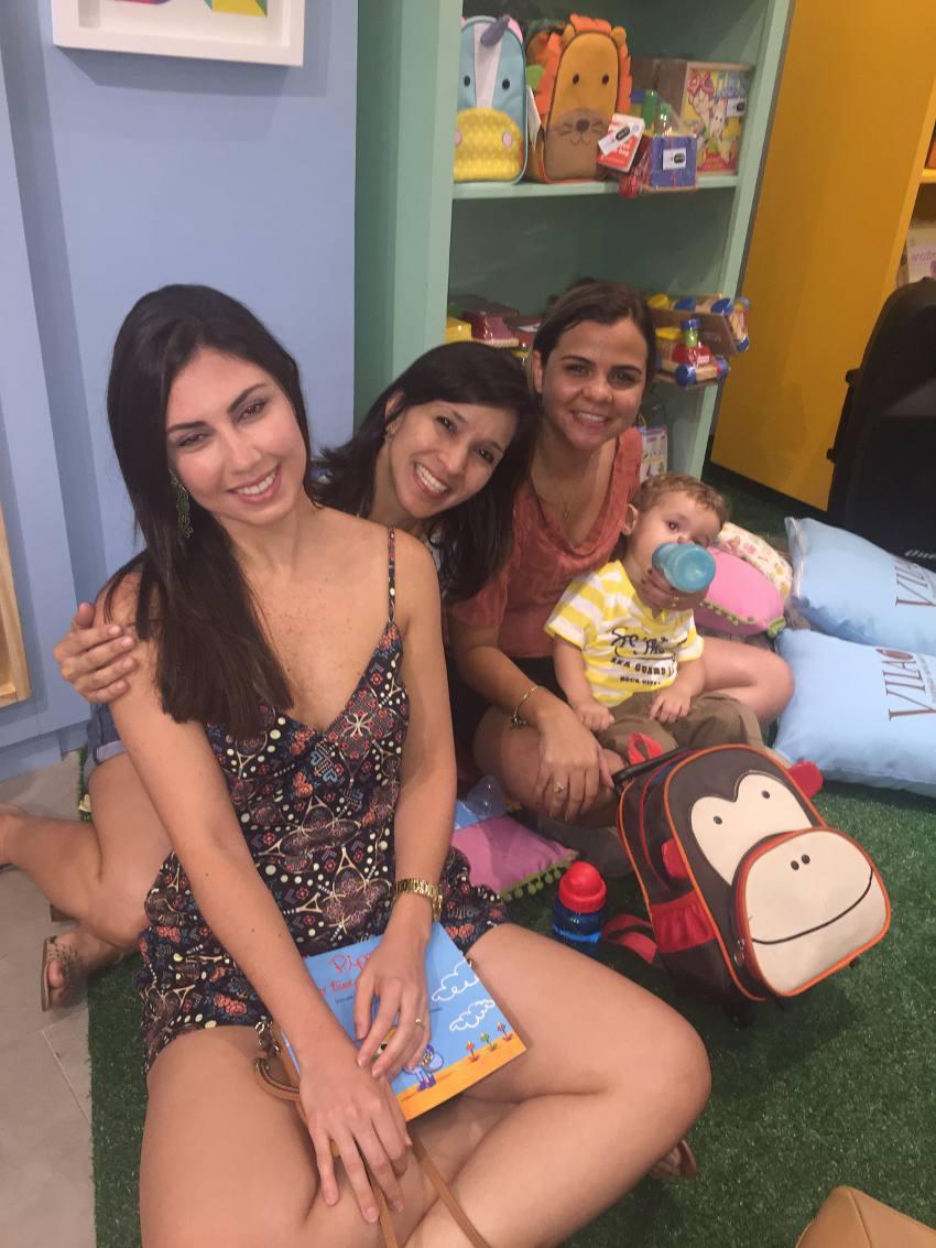 Tatiane Ebrahim, Sara Eleutério e Roichelli Dantas