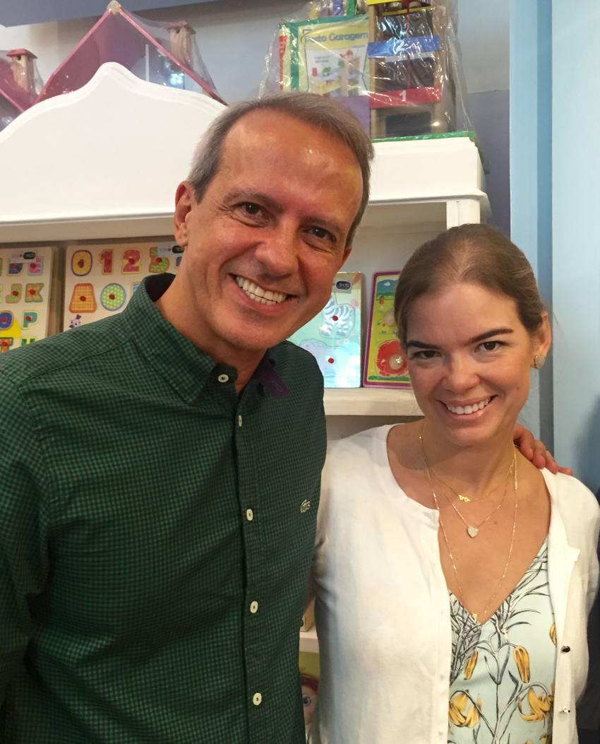 Carlos Augusto Costa e Juliana Lins
