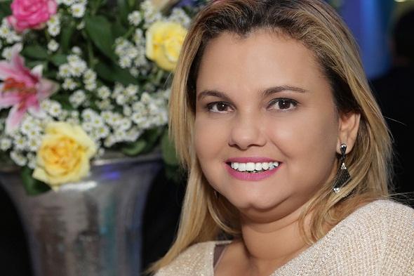 Alcilene Pereira, nome à frente do evento. Crédito: Arquivo pessoal