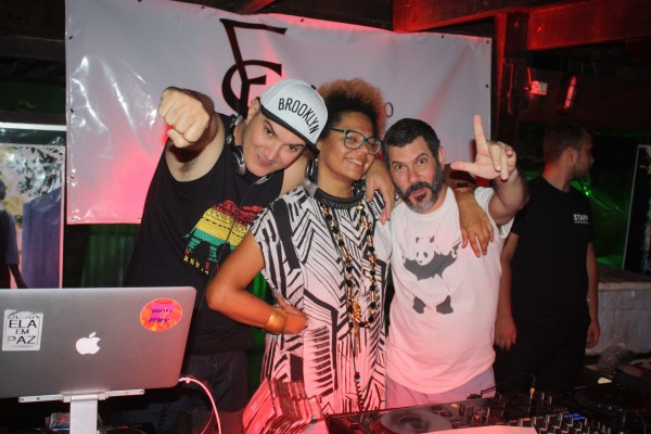 Felipe Machado, Lala K e Rebel K - Crédito: Divulgação/Sem Loção