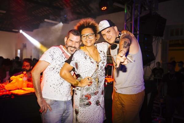 Rebel K, Lala K E Felipe Machado - Crédito: Lana Pinho/Divulgação