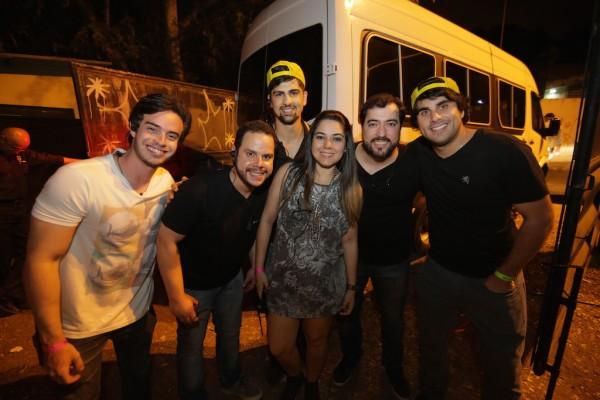 Os produtores da festa - Crédito: Celo Silva/Divulgação
