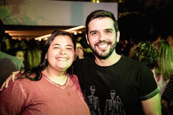 Rodrigo Porto e Clarissa Borges. Crédito: Maquina3