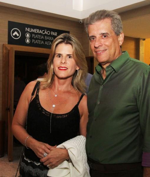 Danielle Mendonça e Roberto Maia - Crédito: Nando Chiappetta/DP