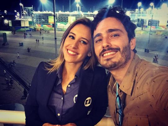 Cris Dias e Thiago Rodrigues. Crédito: Reprodução/ Instagram