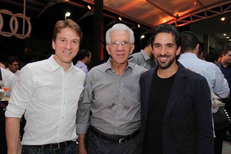 Breno, Pedro e Buno Schwambach. Crédito: Luiz Fabiano / Divulgação