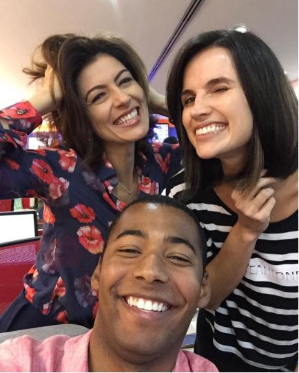 Meire Lanunce, Clarissa Goes e Pedro Lins. Crédito: Reprodução/ Instagram