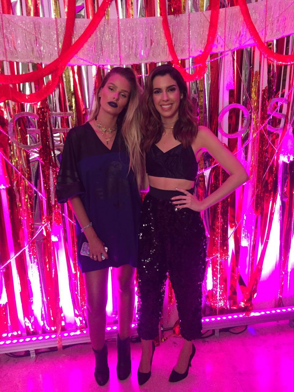 Yasmin Brunet e Camila Coutinho - Crédito: Thayse Boldrini/DP