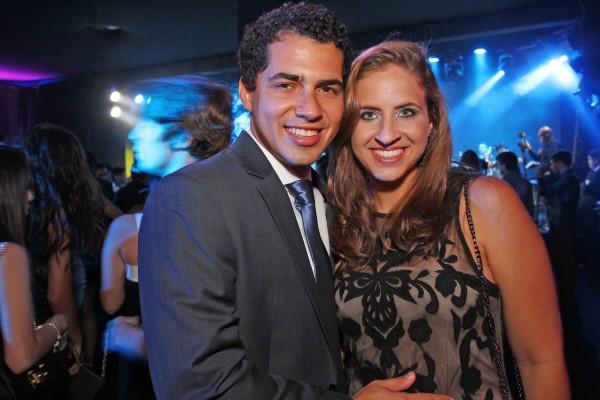 Tomás Alencar e Eduarda Campos - Crédito: Roberto Ramos/DP