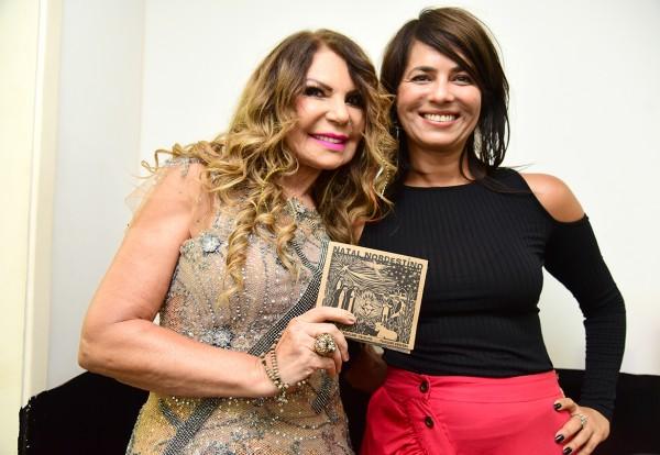 Elba Ramalho e Ione Costa - Crédito: Divulgação/Arquivo pessoal