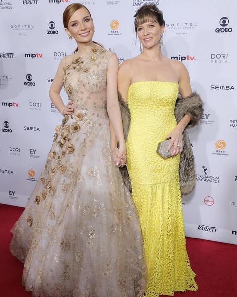 Maria Eugênia Suconic e Daniela Busoli - Crédito: Reprodução/Instagram