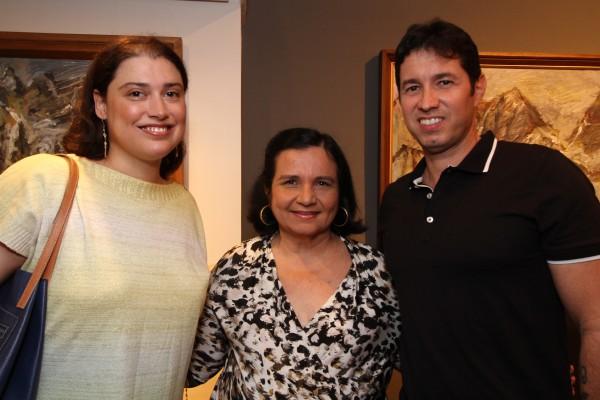 Debora Brennnand e Edson Menezes -  Crédito: Roberto Ramos/DP