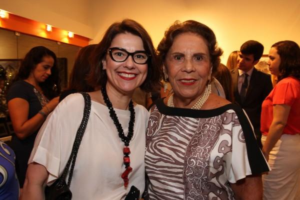 Marcelle Farias e Geralda Farias -  Crédito: Roberto Ramos/DP