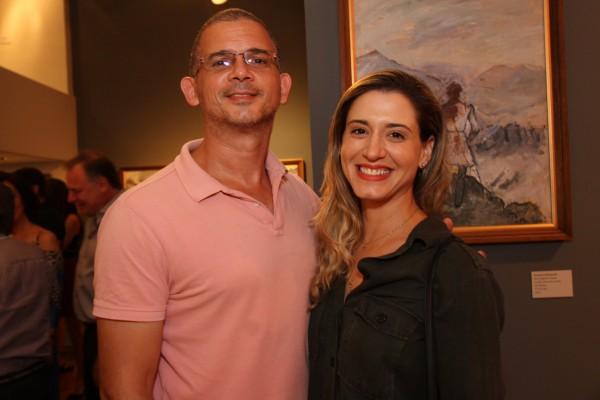 Acacio Costa e Carol Soter - Crédito: Roberto Ramos/DP