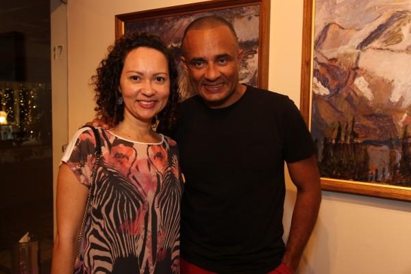 Danielly Ageu e Luciano Souza - Crédito: Roberto Ramos/DP