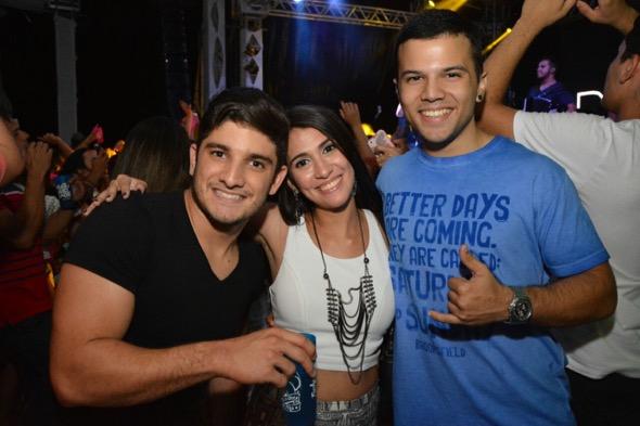 Daniel Vidigal e Isabela Costa. Crédito: Hivor Danierbe / Divulgação