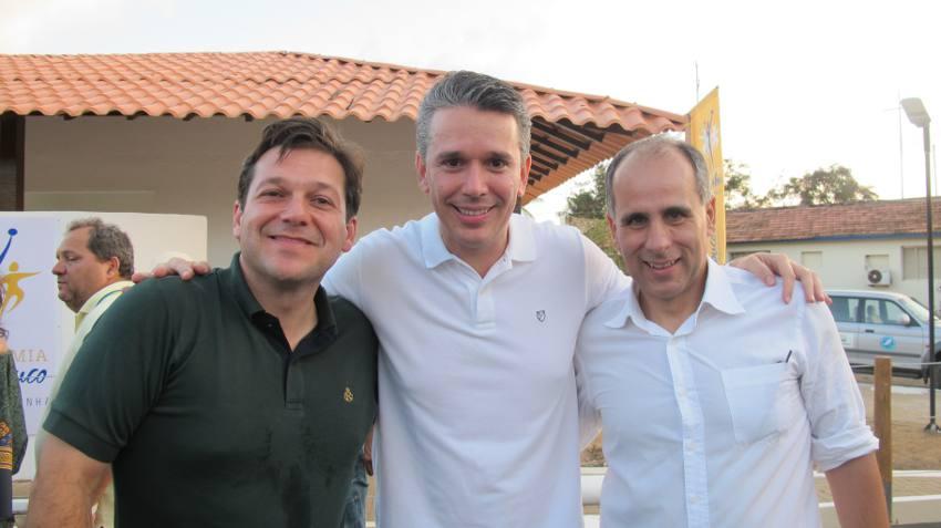 Geraldo Julio, Felipe Carreras e Luiz Eduardo Antunes