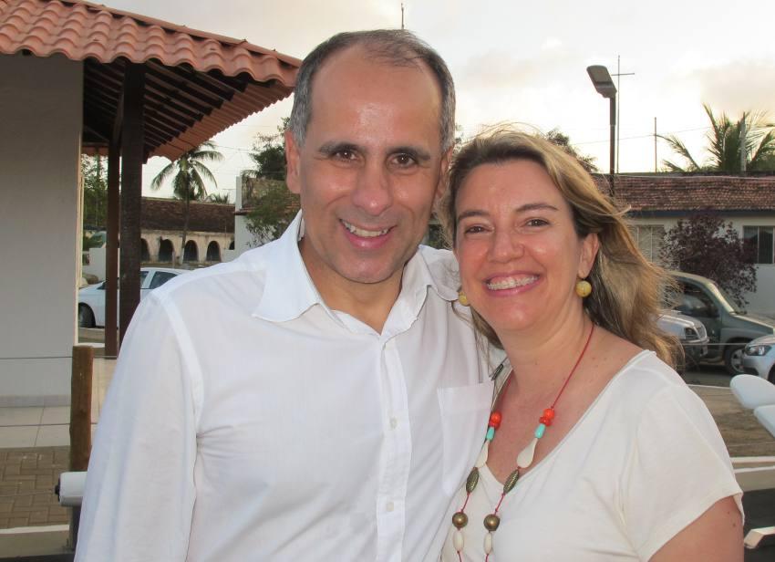 Luiz Eduardo e Patricia Antunes