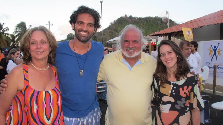 Marta Lima, Tuca e José Maria Sultanam e Rebeca Simões