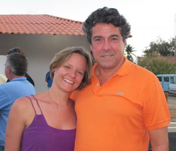 Bruna Simões e Ricardo Pessoa de Queiroz Filho