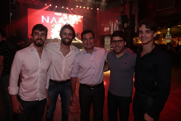 Rafael Lobo, Jorge Peixoto, Geraldo Bandeira, Kiko Lumack e Victor Carvalheira - Crédito: Divulgação/Carvalheira
