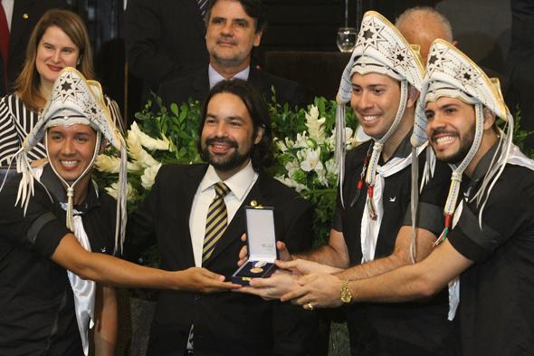 Fulo de Mandacaru recebe mérito Cultural Gilberto Freyre - Crédito: Roberto Ramos/DP